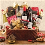 5 Bottle Wine Gift Basket