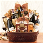 Giant 5 Bottle Wine & Champagne Gift Basket
