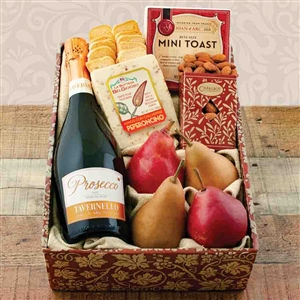 Prosecco and Pears Celebration Gift Box