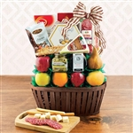 Italian Gourmet and Fruit Gift Basket