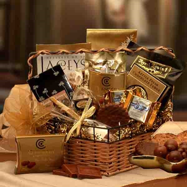 Chocolate gift basket gift baskets arttowngifts chocolate gift basket negle Choice Image
