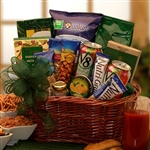 Healthy Heart Gourmet Gift Basket - Great gift for those healthy conscious people who are heart smart!