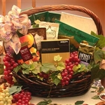 Gourmet Kosher Gift Basket - All the kosher taste treats they love in this gift basket!