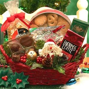 Santa's Gourmet Gift Basket
