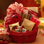 Chocolate Inspirations Valentine Gift Basket - Delight your Valentine with Chocolates!