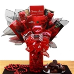 Heart's Desire Chocolate Valentine Bouquet