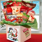 The Night Before Christmas Care Package - Comes with fun treats and games and even a lump coal!