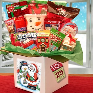 the night before christmas childrens care package - Christmas Care Package Ideas