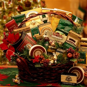 Grand Christmas Gourmet Gift Basket