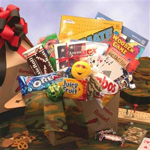 Troopers Tedium Buster Snack Pack Md - Help Our Troops Relax!
