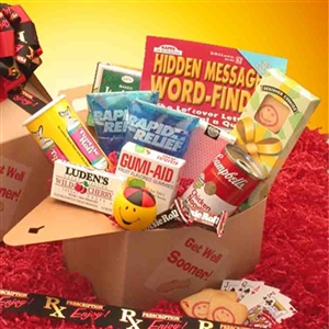 Get Well Soon Care Package - Help them get well sooner with this caring gift!