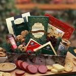 A Rustic Winter Holiday Gift Tray