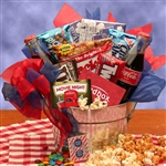 Blockbuster Night Movie Gift Pail - The Perfect Tag Along at the Movies!