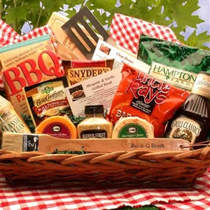 Master of the Grill Barbecue Gift Basket