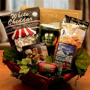 Welcome To Your New Home Gift Basket - A Unique Housewarming Gift