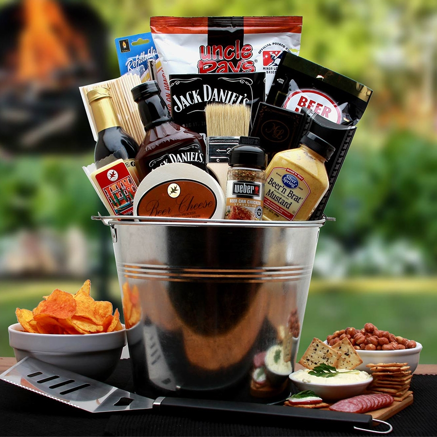 BBQ Lovers Gift Pail | Barbeque Gift