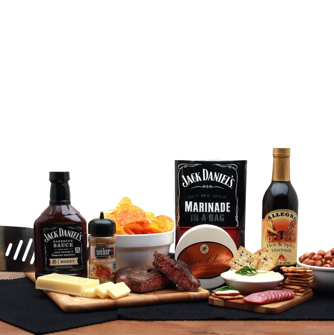 89f9a65bfe4f0 BBQ Lovers Gift Pail Barbeque Gift Basket