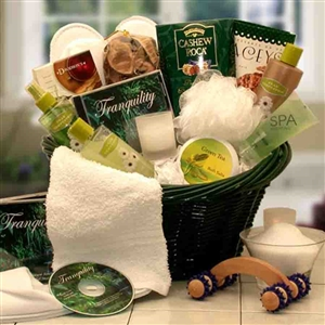 Spa Luxuries Aromatherapy Gift Basket