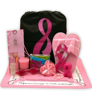 Show You Care Be Aware Breast Cancer Gift Tote