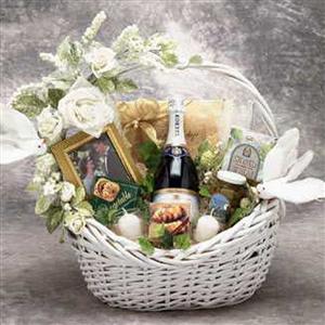 Wedding Wishes Gift Basket...