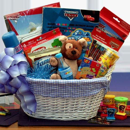 Disney Fun and Games Gift Basket