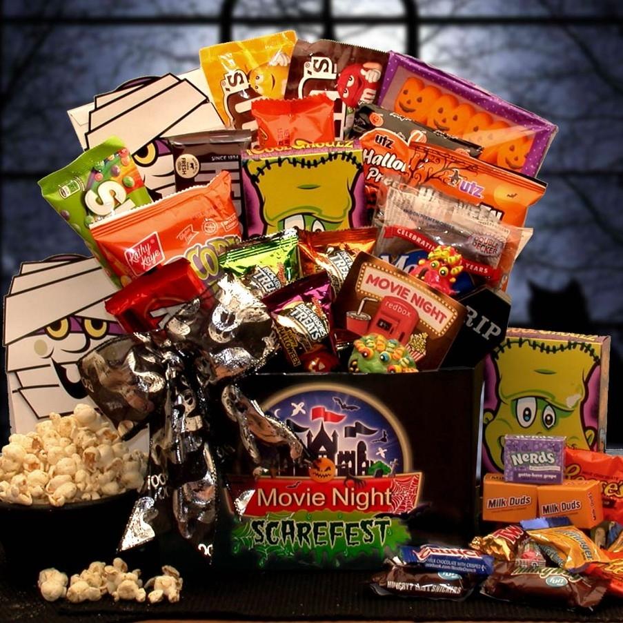 Halloween Scarefest Movie Gift Box Redbox Card Halloween Gifts