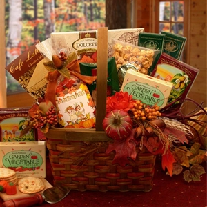 Harvest Gourmet Gift Basket - Delight family, friends or associates with this bountiful gift.