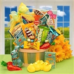 Easter Sweets N Treats Gift Basket - Perfect for adult kids too old for toys but still young enough to enjoy treats!