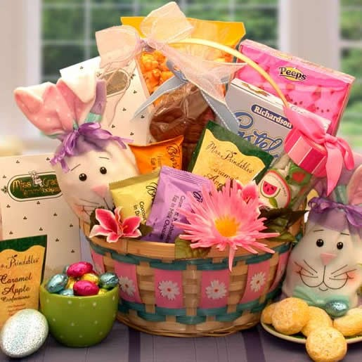 Easter celebration gift basket easter gifts arttowngifts easter celebration gift basket negle