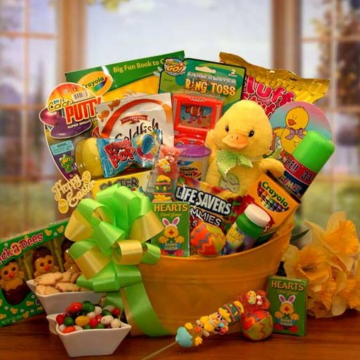 Easter sunshine gift basket easter gift baskets arttowngifts easter sunshine gift basket negle Choice Image