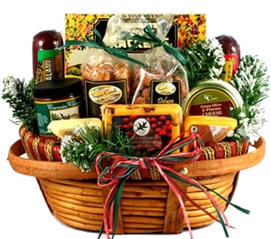 Home For The Holidays Christmas Gift Basket