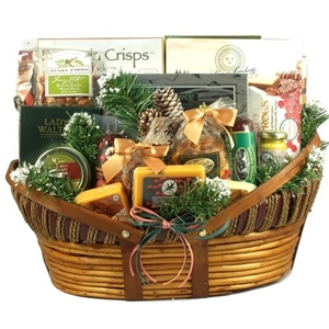 Giant Home for The Holidays Gift Basket