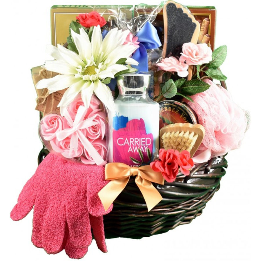 Mulberry Lane Spa and Chocolates Basket