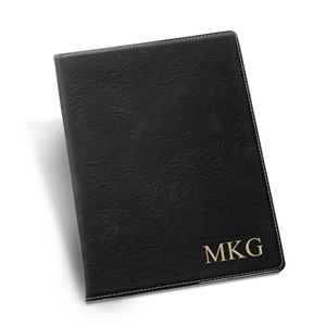 Personalized Portfolio in Black