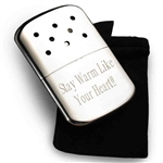 Personalized Zippo Hand Warmer - Finally a high quality reusable hand warmer from Zippo. Great for both hunters and anyone in winter weather.