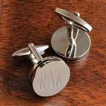 Personalized Pin Stripe Cufflinks