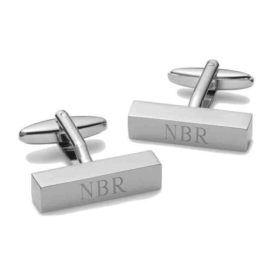 Personalised Cufflink Bars
