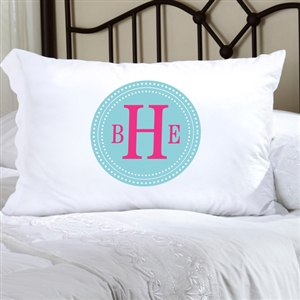 Personalized Chic Circles Pillow Cases