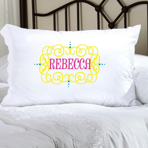 Personalized Felicity Glamor Girl Pillow Case