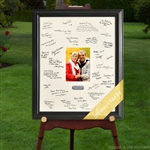 Personalized Anniversary Signature Frame