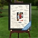 Personalized Bar Bat Mitzvah Sig Frame
