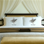 Personalized Panache Pillow Case Set