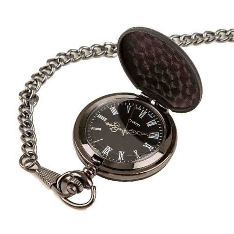 Midnight Pocket Watch Personalized