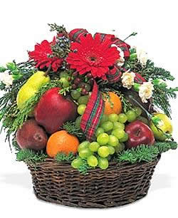 For a co-worker, client, vendor or friend, this basket is the deliciously right choice. - Fabulous Fruit Basket