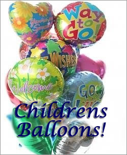 Celebrate any occasion with luminous balloons! - Dozen Mylar Balloons - Childrens