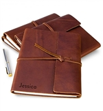 Fine Leather Journal - Personalized