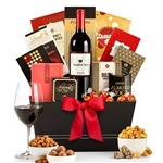 California Red and White Wine Basket