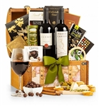 International Wine and Gourmet Chest - Gourmet food and wine from around the world