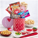 Sweet treats in a Valentines Tin