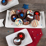 USA Themed Belgian Chocolate Covered Oreo® Cookies